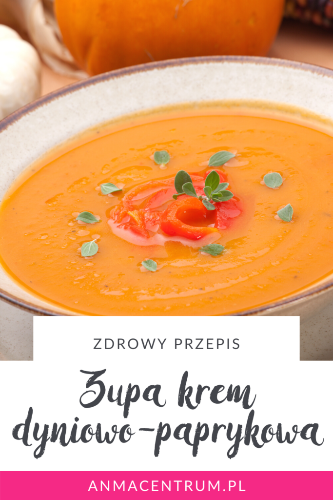 zupa krem dyniowo-paprykowa - blog dietetyczny
